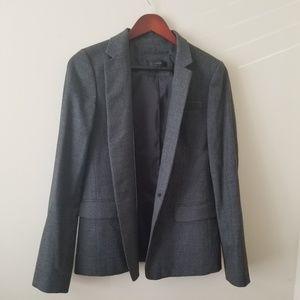 J.Crew Gray Wool Blazer
